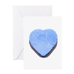 Valentine's Day Candy Heart B Greeting Card
