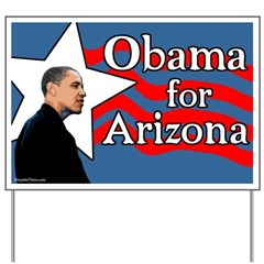 Obama for Arizona Yard Sign