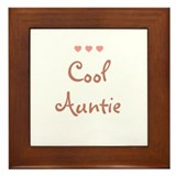 Cool Auntie Framed Tile