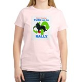 Belgian Sheepdog RALLY Women's Pink T-Shirt