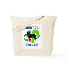 Belgian Sheepdog RALLY Tote Bag