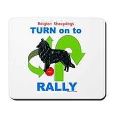 Belgian Sheepdog RALLY Mousepad