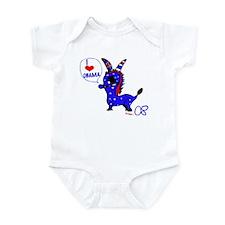 OBAMA FOR PRESIDENT! Infant Bodysuit