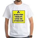 Radiation Therapy White T-Shirt