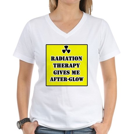 Radiation Therapy Women's V-Neck T-Shirt