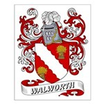 Walworth Coat of Arms Small Poster