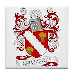 Walworth Coat of Arms Tile Coaster
