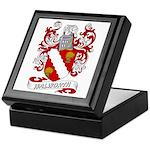 Walworth Coat of Arms Keepsake Box