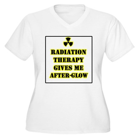 Radiation Therapy Women's Plus Size V-Neck T-Shirt