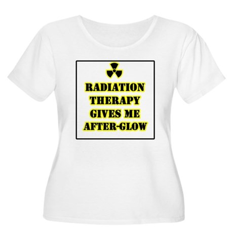 Radiation Therapy Women's Plus Size Scoop Neck T-S