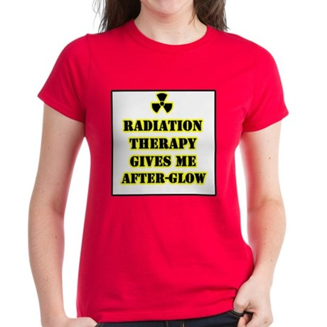 Radiation Therapy Women's Dark T-Shirt