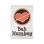 Anti-Valentines Bah Humbug Rectangle Magnet (10 pa