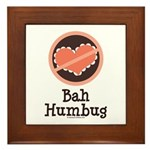 Anti-Valentines Bah Humbug Framed Tile