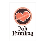 Anti-Valentines Bah Humbug Postcards (Package of 8