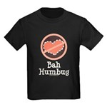Anti-Valentines Bah Humbug Kids Dark T-Shirt