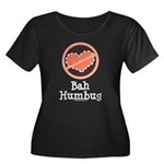 Anti-Valentines Bah Humbug Women's Plus Size Scoop