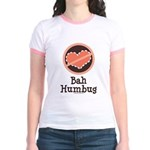 Anti-Valentines Bah Humbug Jr. Ringer T-Shirt