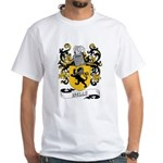 Wells Coat of Arms White T-Shirt