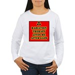 Radiation Therapy Women's Long Sleeve T-Shirt