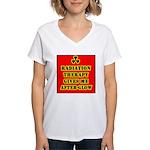 Radiation Therapy Women's V-Neck T-Shirt