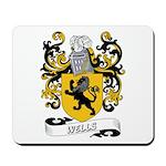 Wells Coat of Arms Mousepad