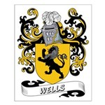 Wells Coat of Arms Small Poster