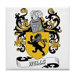 Wells Coat of Arms Tile Coaster