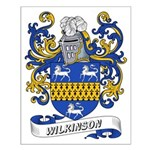 Wilkinson Coat of Arms Small Poster