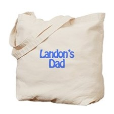 Landon's Dad Tote Bag