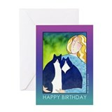 "Cat Mom ""Purrfect Day"" Birthday Card"