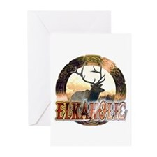 Elkaholic elk pride gifts Greeting Cards (Pk of 10