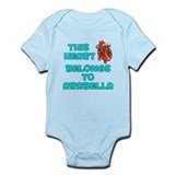 This Heart: Arabella (B) Onesie