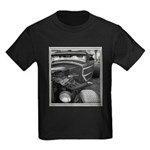 BURN OUT CHAMP Kids Dark T-Shirt