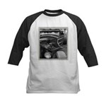 BURN OUT CHAMP Kids Baseball Jersey