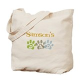 Samson's Dad Tote Bag