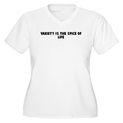 Variety is the spice of life Women's Plus Size V-N