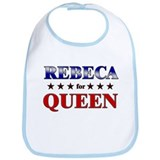 REBECA for queen Bib