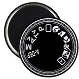 "Mode Dial 2.25"" Magnet (10 pack)"