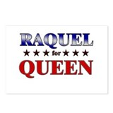 RAQUEL for queen Postcards (Package of 8)