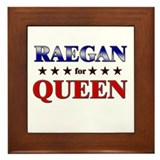 RAEGAN for queen Framed Tile