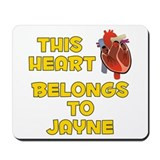 This Heart: Jayne (A) Mousepad