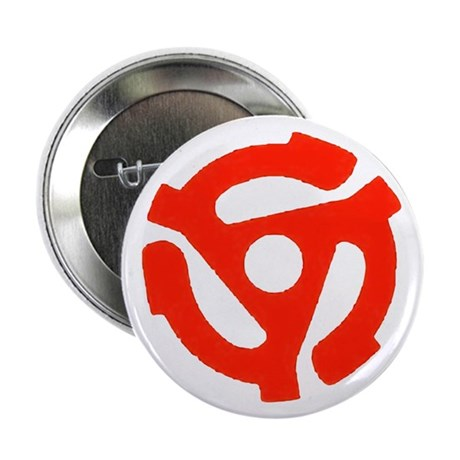 "Deejay 45rpm Adaptor 2.25"" Button (10 pack)"