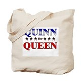 QUINN for queen Tote Bag