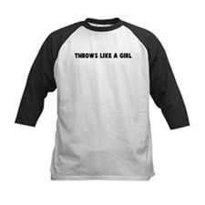 Throws like a girl Tee