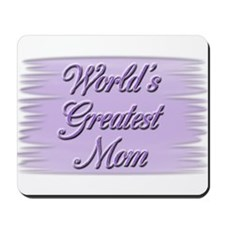 """Greatest Mom"" Mousepad"