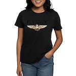 Fly Navy Wings Women's Dark T-Shirt