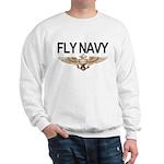 Fly Navy Wings Sweatshirt
