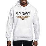 Fly Navy Wings Hooded Sweatshirt