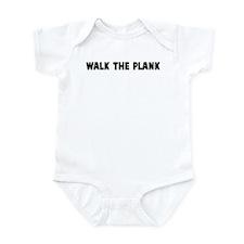 Walk the plank Infant Bodysuit