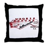 Rollercoaster Throw Pillow